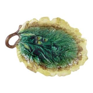 Oak Leaf & Acorn GS&H Etruscan Majolica Serving Platter