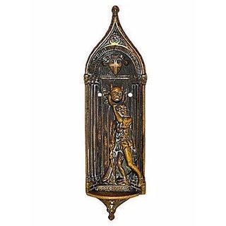 Sanctuary Brass Door Knocker From England