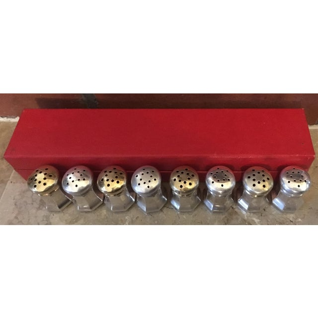 Cartier Sterling Silver Salt & Pepper Shakers - Set of 8 - Image 4 of 6