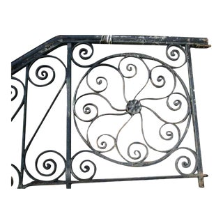 Wrought Iron Front Stair Railing
