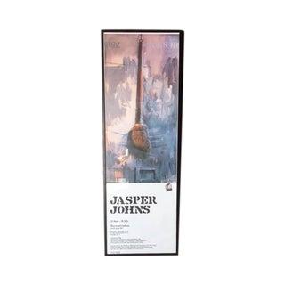 Vintage Jasper Johns Framed Lithograph Poster