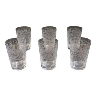 Baccarat Crystal Glasses - Set of 6