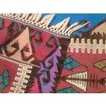 Image of Jewel-Tone Kilim Runner - 2′3″ × 6′2″