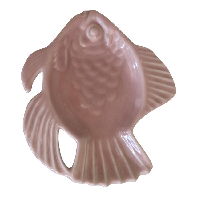 Rookwoood Fish Ashtray - Image 1 of 3