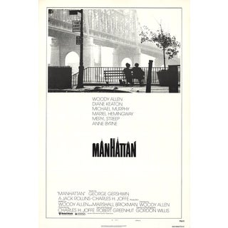 1979 Original Manhattan Movie Poster