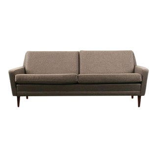 Vintage Danish Wool 3-Seat Sofa