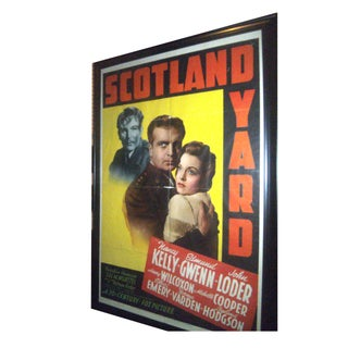 Original 1945 Movie Poster Lithograph