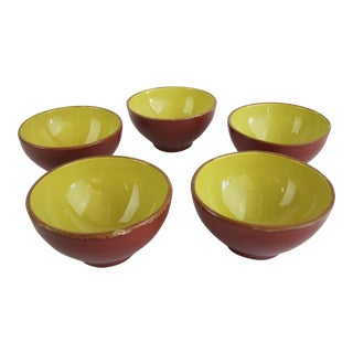 Vietri Cucina Fresca Pattern Bowls - Set of 5