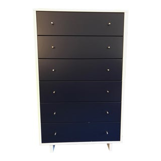 Navy & White Moda Collection 6 Drawer Dresser