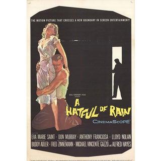 A Hatful of Rain 1957 Poster