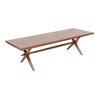 American Modern Walnut Low Table, Robsjohn-Gibbings