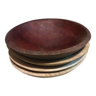 Antique Munising Bowls - Set of 3