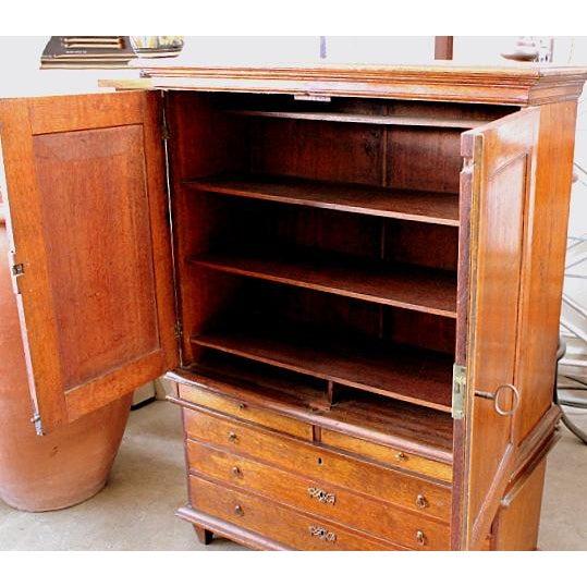 Mahogany Linen Press Cabinet - Image 3 of 4