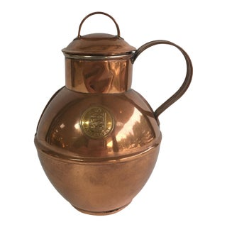 Guernsey Copper Milk Pot