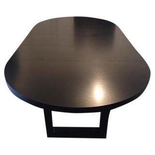 Extendable Dark Walnut Dining Table