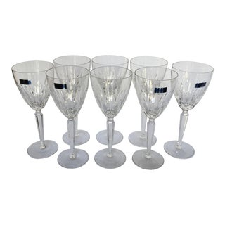 "Waterford Crystal ""Marquis"" Red Wine Glasses - Set of 8"