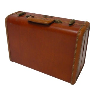Samsonite Leather Luggage Suitcase