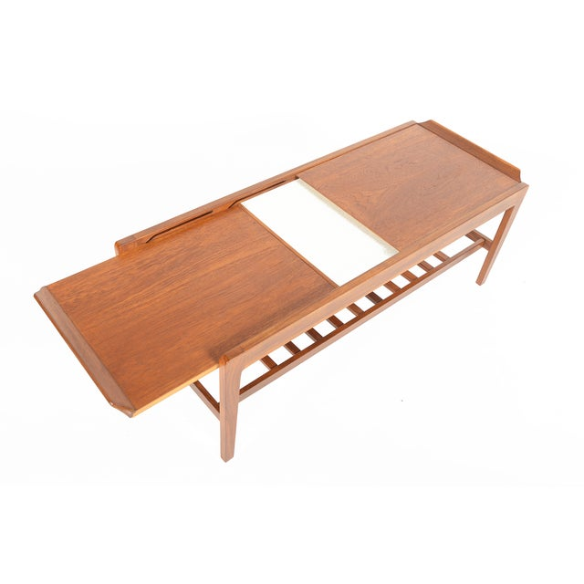 Remploy Teak Extending Surfboard Coffee Table Chairish