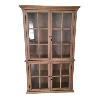 Restoration Hardware Hampton Casement Glass Hutch
