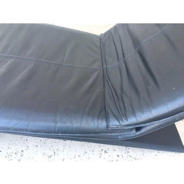 MCM Italian Leather Lounge by Magistretti Casinna - Image 12 of 12