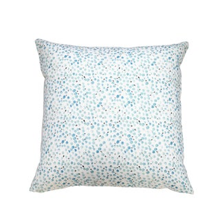 "Eucalyptus Seeds Linen Pillow - 24"" X 24"""