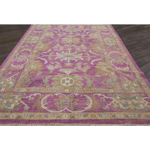 "Wool Sultanabad Rug - 8' x 10'6"" - Image 6 of 7"