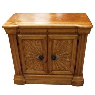 Wooden Inlay Nightstand