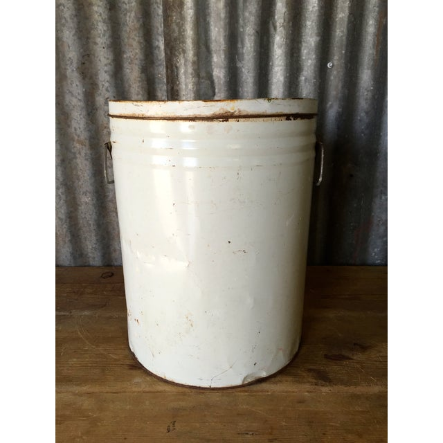 Vintage Lard Container From Oklahoma - Image 8 of 11