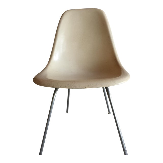 circa 1958 eames molded fiberglass chair chairish