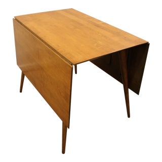 Paul McCobb Mid Century Modern Drop Leaf Table