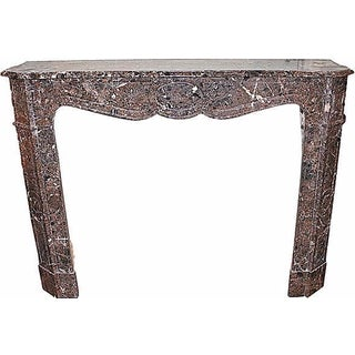 Louis XV Style Paris Marble Fireplace Surround