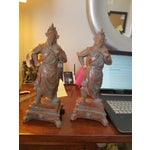 Image of Chinese Warrior Figurines - A Pair