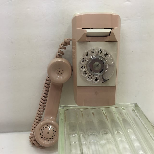 Beige Starlight Rotary Dial Wall Phone - Image 3 of 10