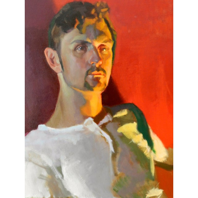 Image of Portrait Painting of a Man