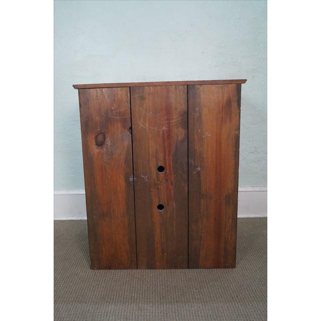 CG Derstine Bucks County Hand Crafted Pine Cabinet - Image 9 of 10