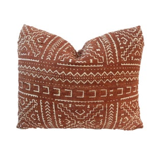 "African Custom Made Mud cloth Pillow 20 "" by 17"" W"