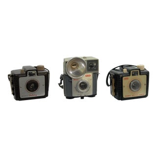 Vintage Kodak Camera Collection - Set of 3