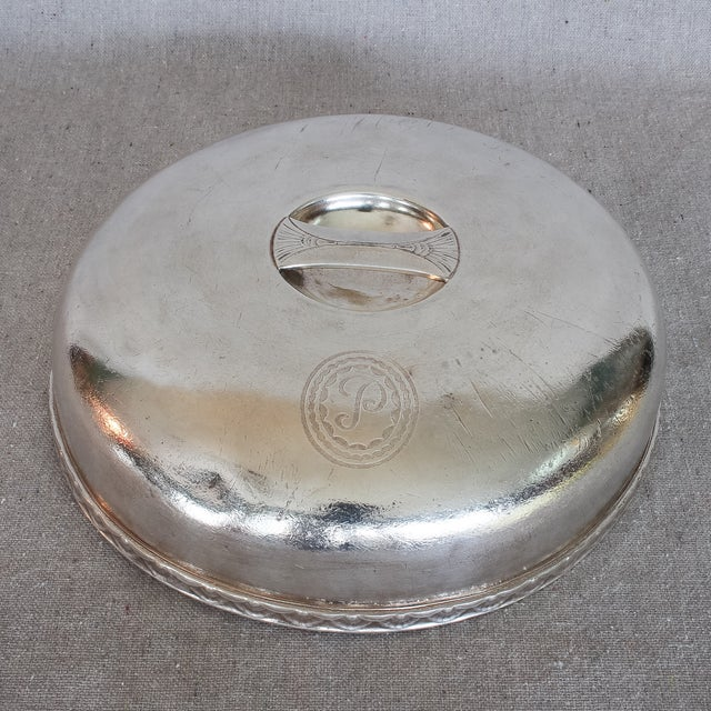 Image of Hotel Pierre, New York Hotelware Food Domes - Pair