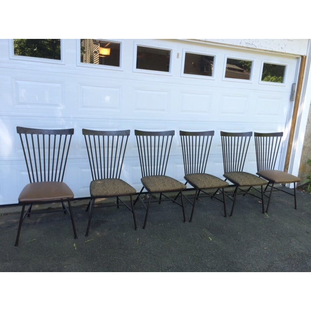 1950's Mid-Century Metal Dining Chairs - 6 - Image 2 of 11