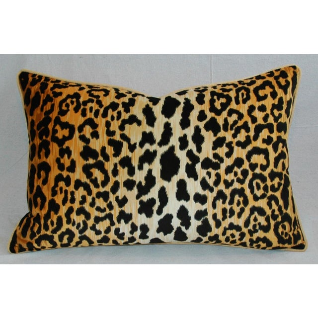 Hollywood Glam Leopard Spot Safari Velvety Pillows - A Pair - Image 4 of 11