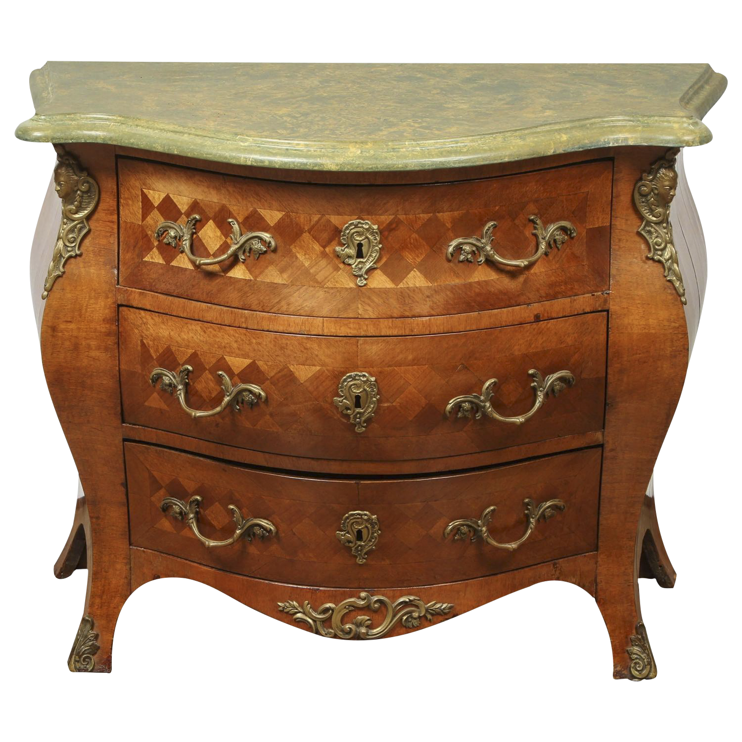 Swedish Rococo Bombay Chest   Image 1 Of 10