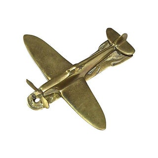 Spinning Propeller Airplane Door Knocker