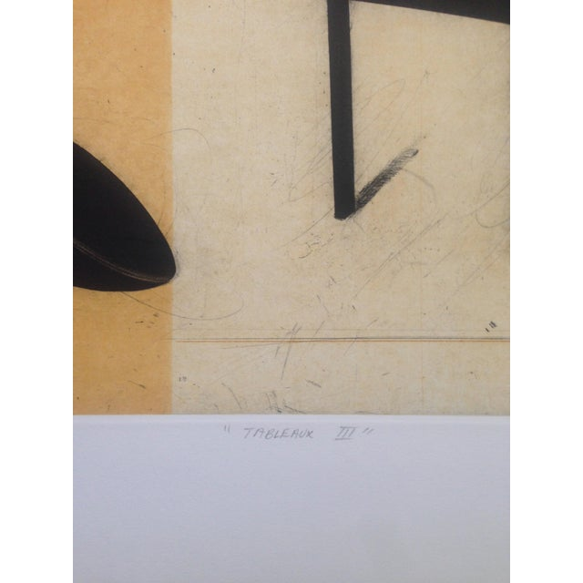Image of Greg Murdoch 1991 Aquatint Abstract Etching
