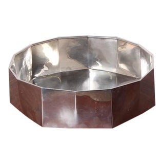 Sterling Silver Bowl by Afra and Tobia Scarpa