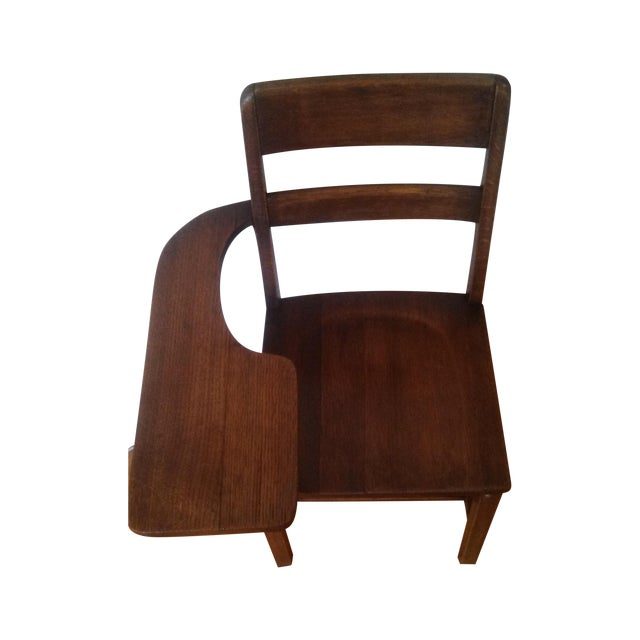 Image of Antique Student Chair/Desk