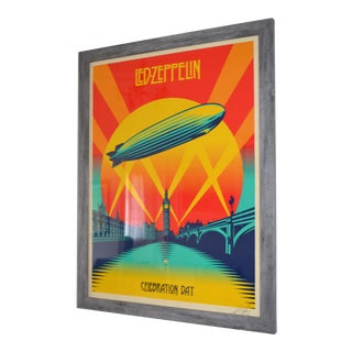 Signed Shepard Fairey Led Zeppelin Artist's Proof Limited Edition Print