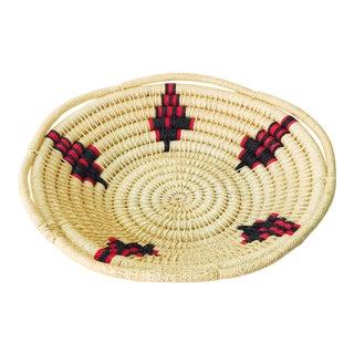 Large Vintage Southwestern Coil Basket