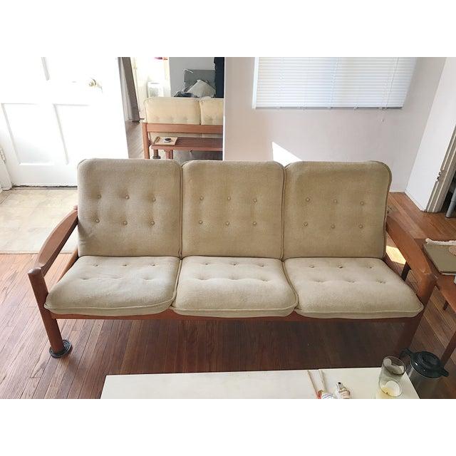 Domino Mobler Teak Danish Sofa - Image 2 of 3