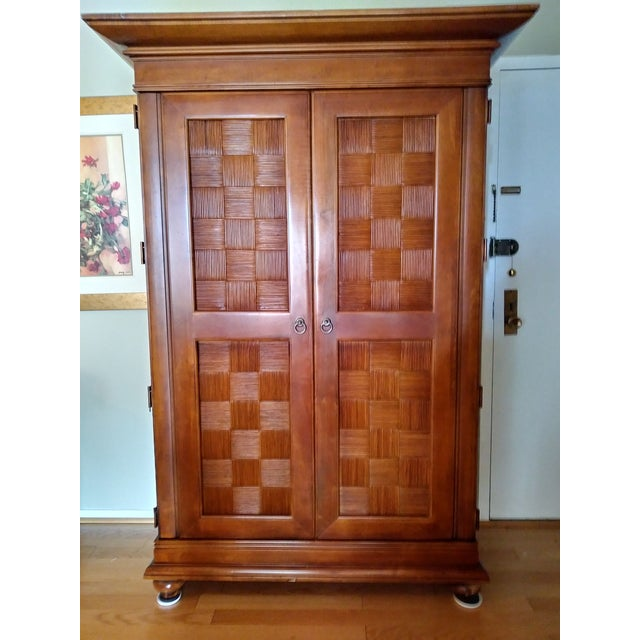 Stanley Furniture Wooden Armoire - Image 9 of 9