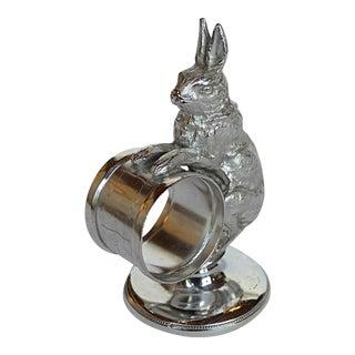 Victorian Rabbit Figural Napkin Ring
